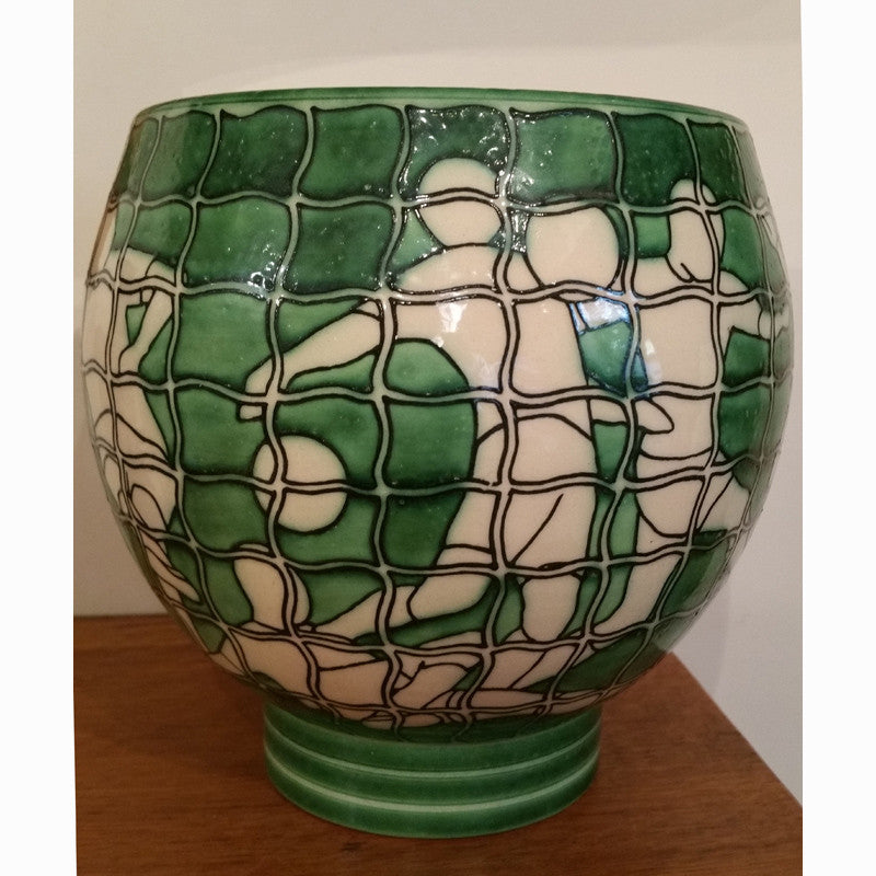 "Dennis Chinaworks Sport Football Green Deco 7"" - uk-art-pottery-test-site"