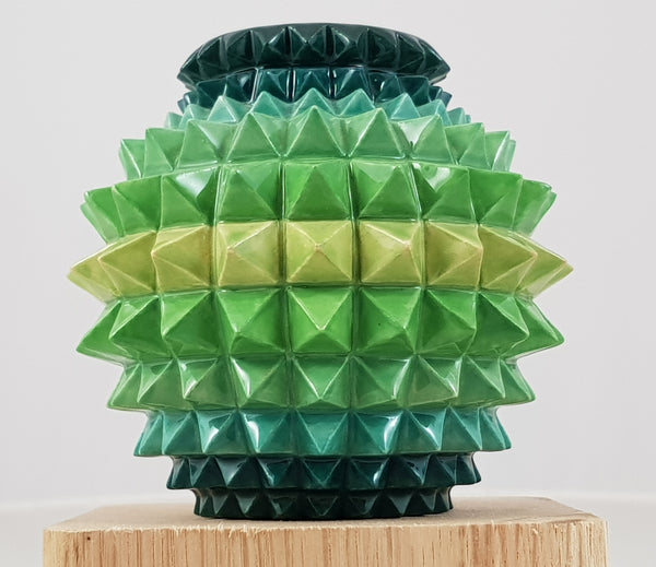 Dennis Chinaworks one off trial spikey vase