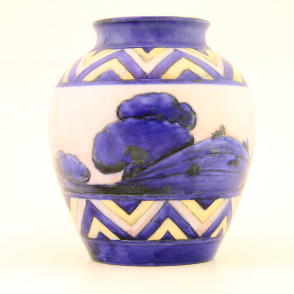 Moorcroft dawn vase - uk-art-pottery-test-site