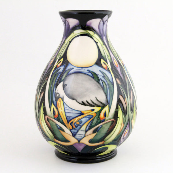 Moorcroft Pottery Shearwater Moon design by Emma bossons - uk-art-pottery-test-site