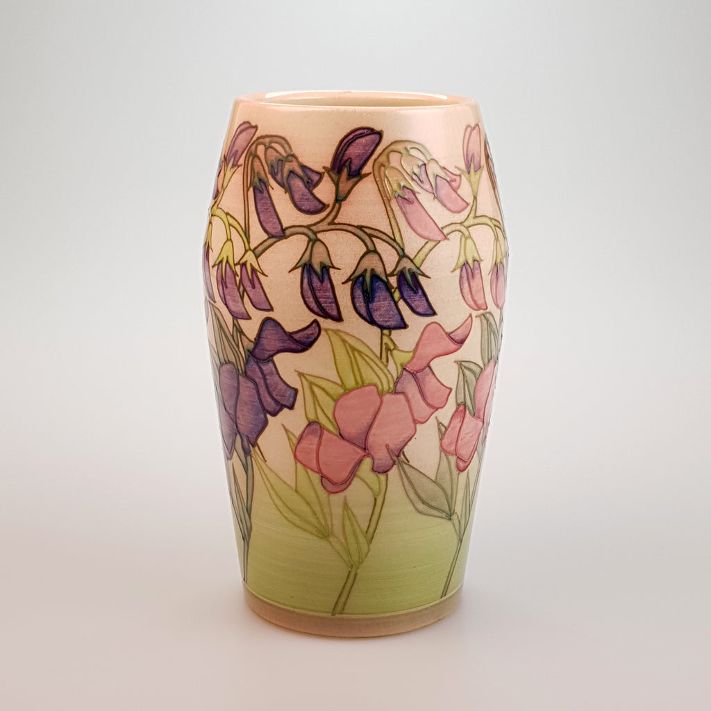 Sweet Pea Trial vase - uk-art-pottery-test-site