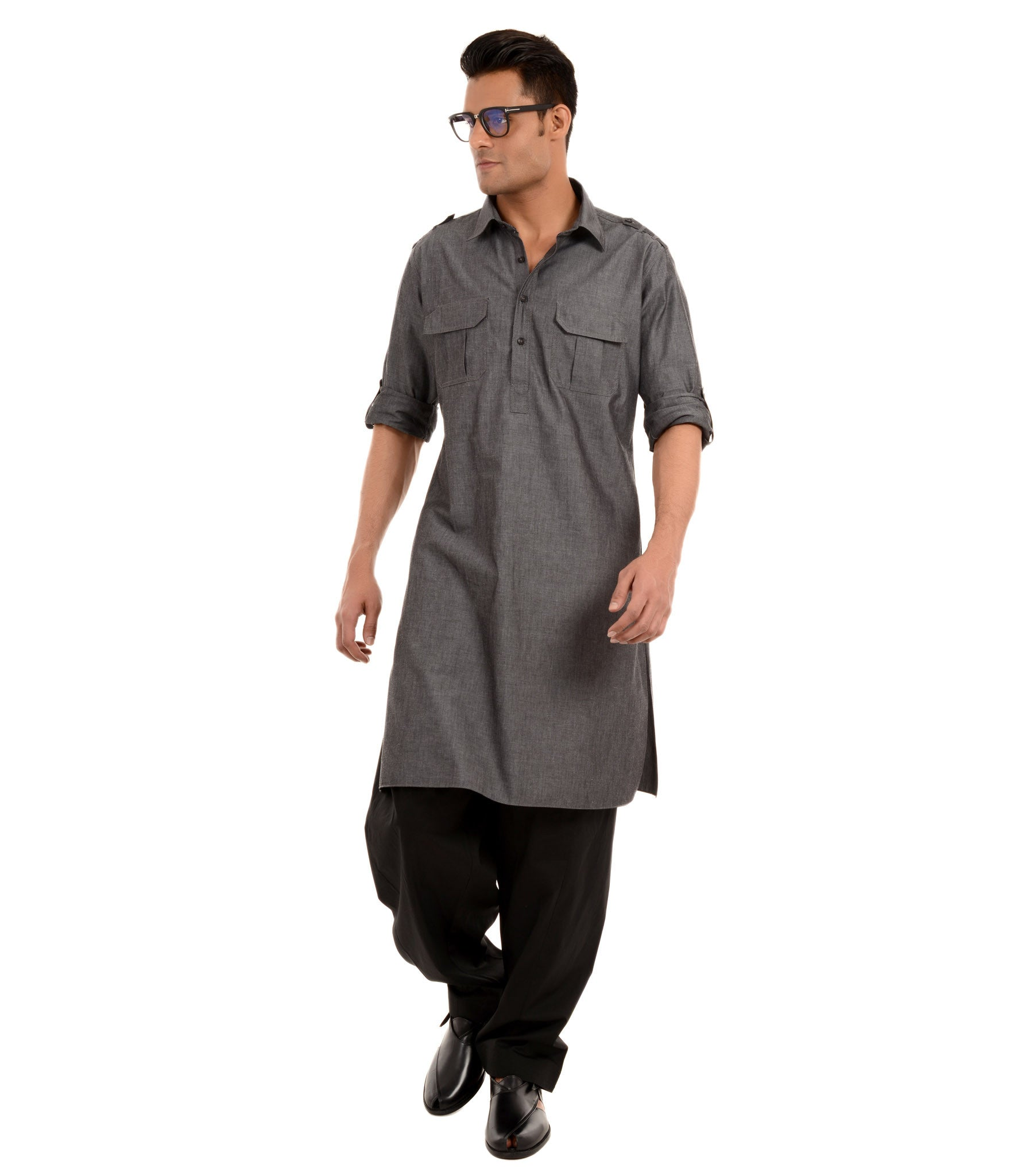 Detailed pathani kurta and salwar