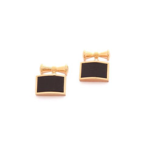 Black Gold Cufflinks