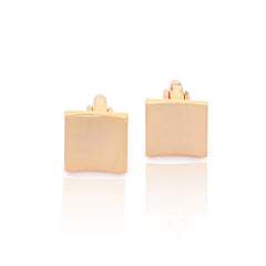 Peach Gold Cufflinks