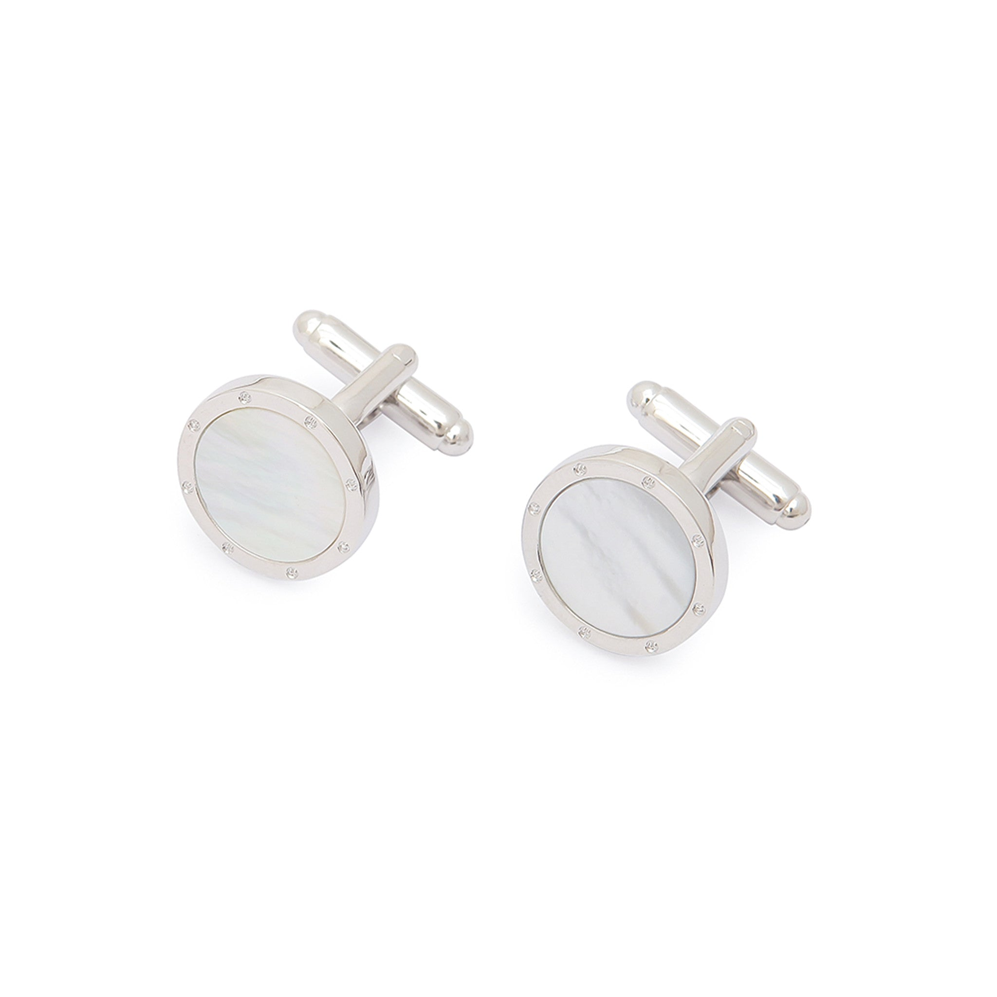 Steel Quartz Cufflinks