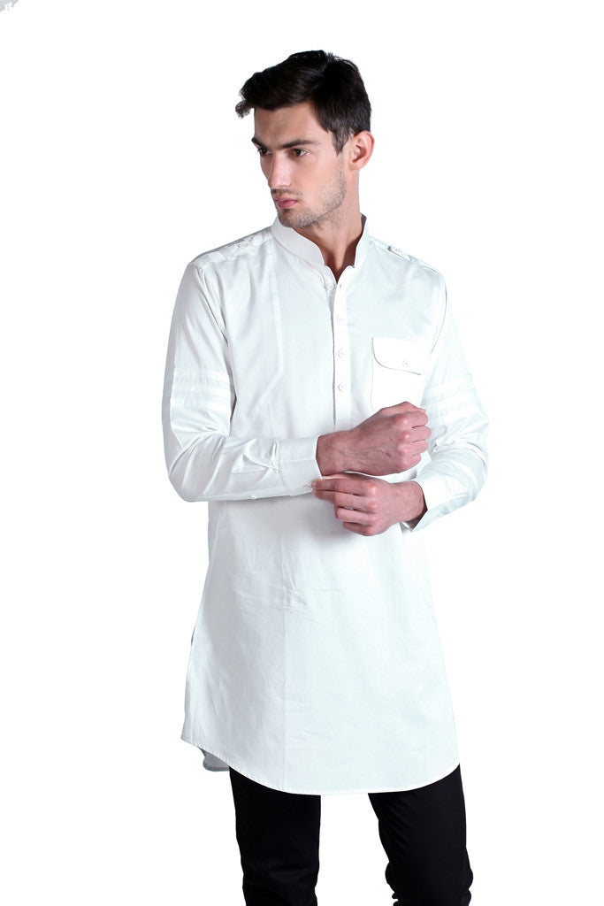 Men's Satin Silk Kurta
