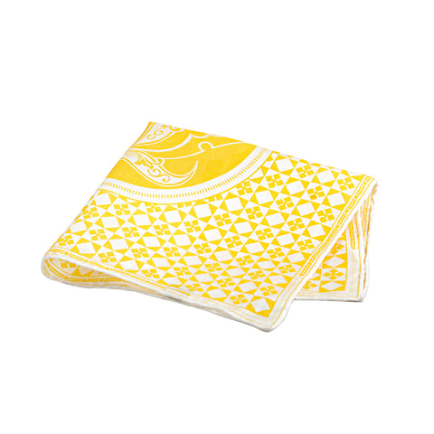 Yellow Pocket Square