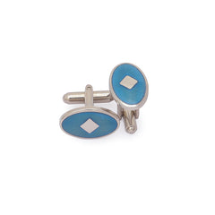Fancy Aqua Cufflinks