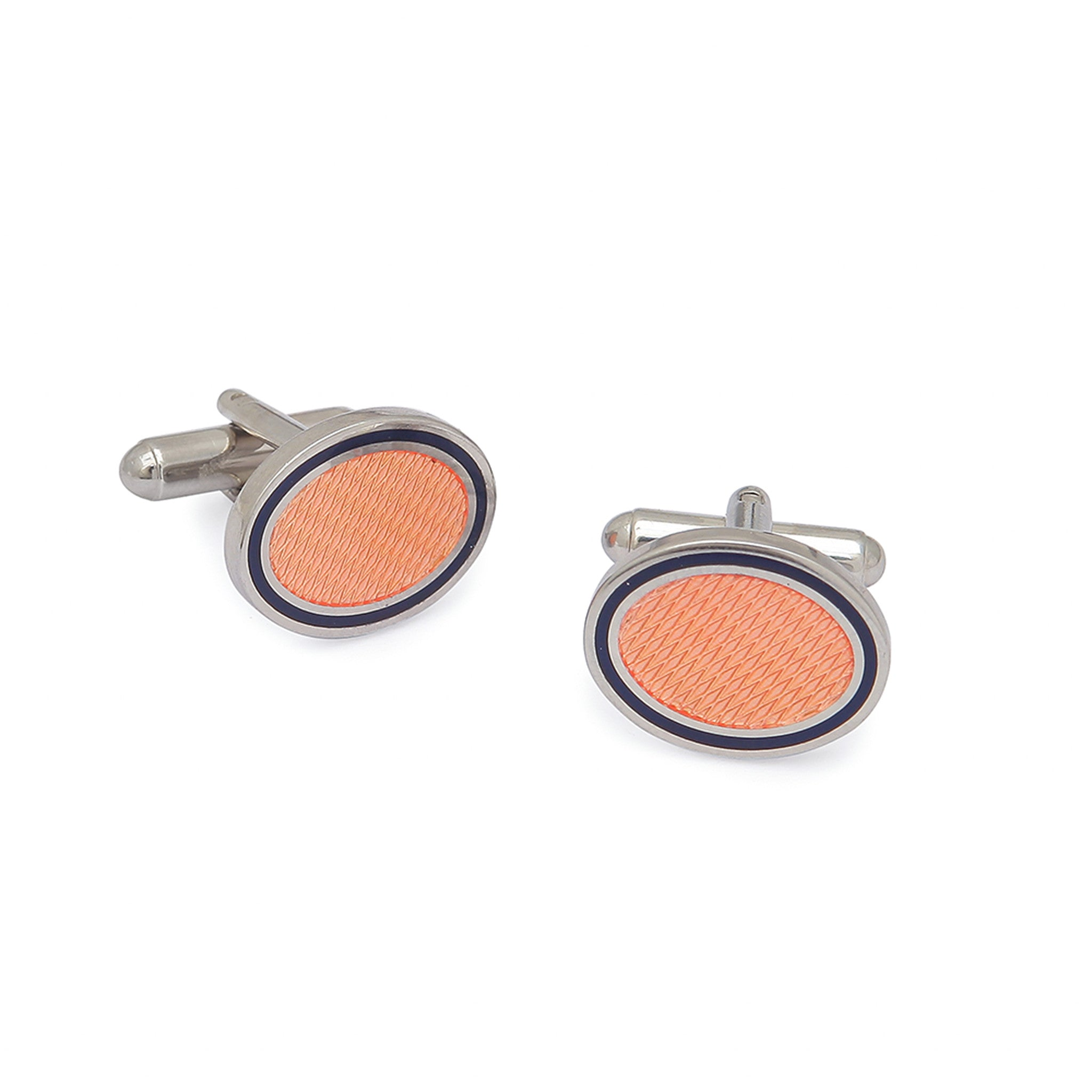Peach Color Cufflinks