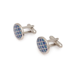 Blue Green Cufflinks