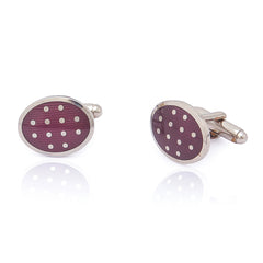 Fancy Magenta Cufflinks