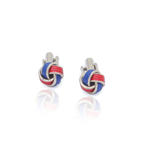 Red & Blue Cufflinks