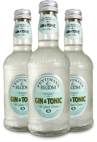 Fentimans & Bloom Gin & Tonic - 275ml