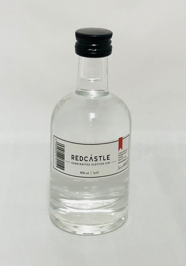 Redcastle Scottish Gin Miniature