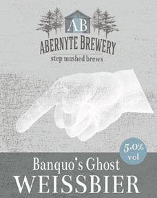 Abernyte Banquos Ghost Wheat Beer (500ml bottle)