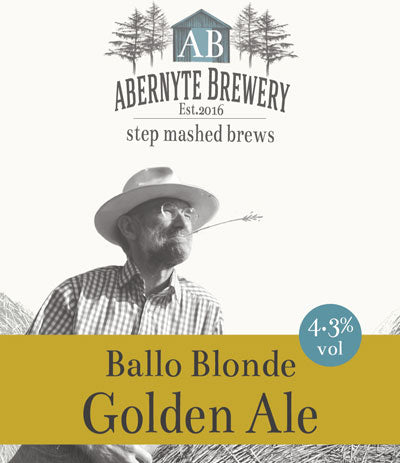 Abernyte Balo Blonde Golden Ale (6 x 500ml bottles)