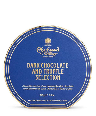 Charbonnel et Walker Dark Chocolate & Truffle Selection 225g