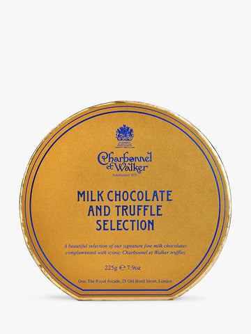 Charbonnel et Walker Milk Chocolate & Truffle Selection 225g