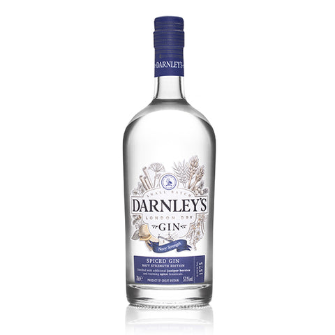 Darnley's Spiced Navy Strength Gin - 70cl