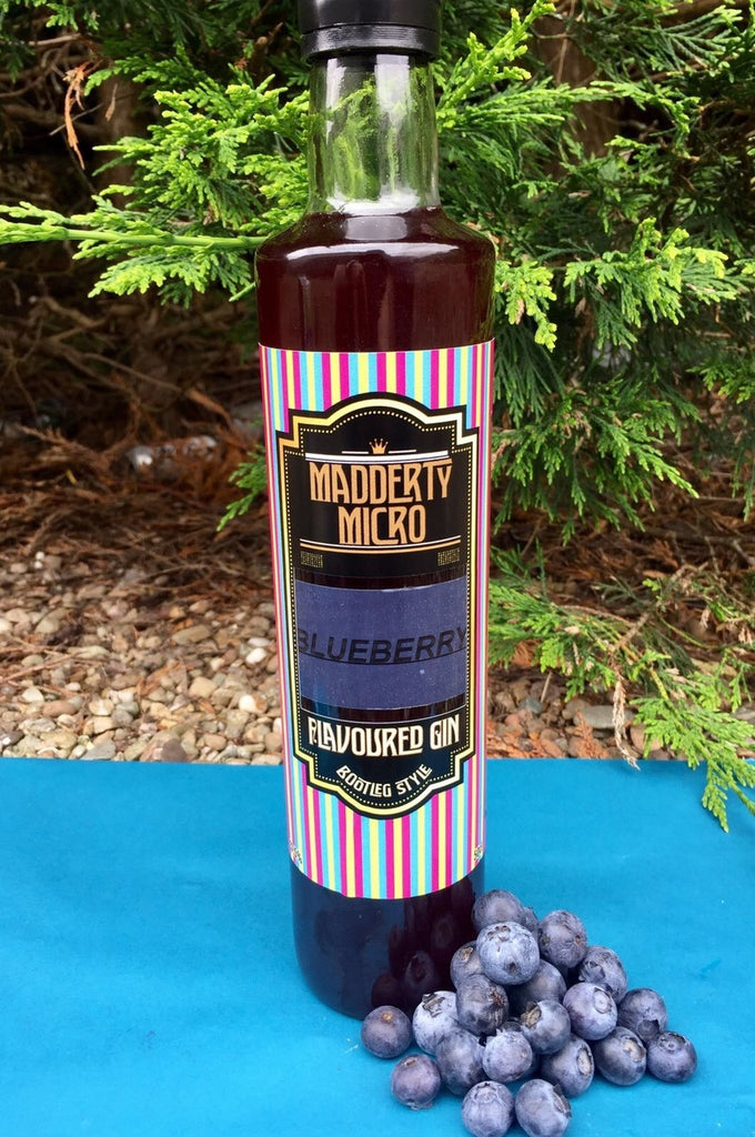 Madderty Micro Blueberry Gin - 50cl