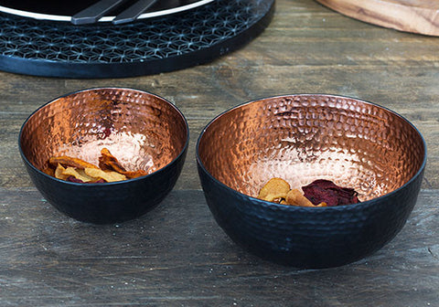 The Just Slate Company Copper Nesting Bowls