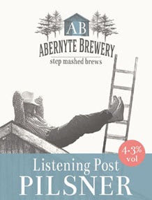 Abernyte Listening Post Pilsner (500ml bottle)