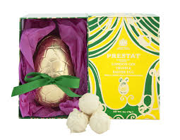 Prestat London Gin Truffle Easter Egg 170g