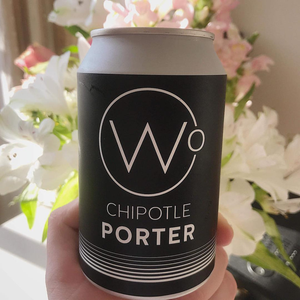 Wasted Degrees Chipotle Porter (6x330ml cans)