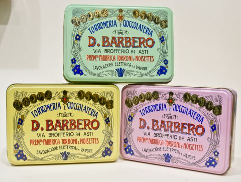 Barbera Torroncini & Chocolate Tins