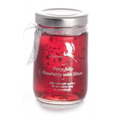 Ouse Valley Fairy Jelly Cranberry & Silver