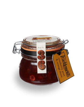 Tracklements Cranberry Port & Orange Sauce Parfait Jar