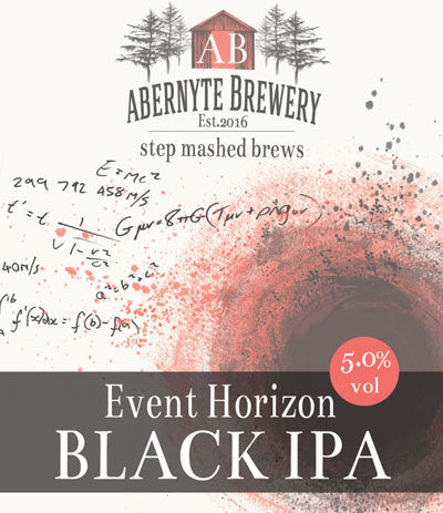 Abernyte Event Horizon Black IPA (6 x 500ml bottles)