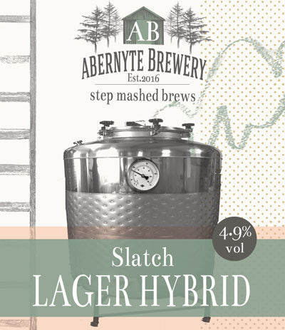 Abernyte Slatch Lager/IPA Hybrid (500ml bottle)
