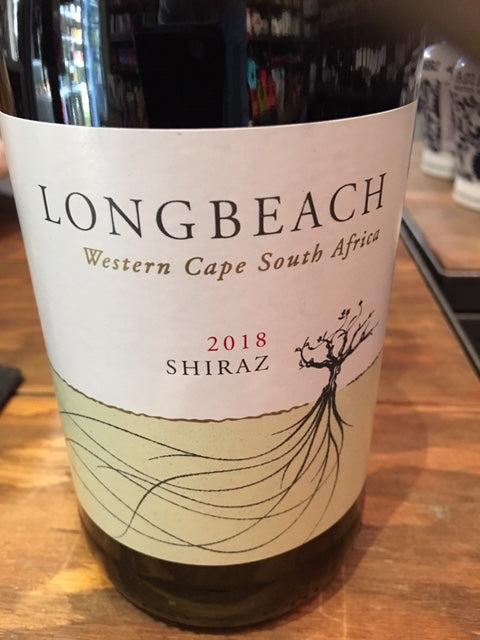 Long Beach Shiraz, Robertson, South Africa, 2018