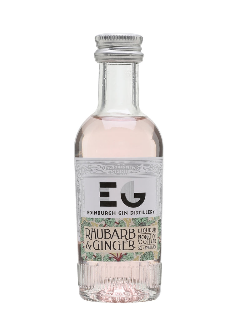 Edinburgh Rhubarb & Ginger Fruit Liqueur Miniature
