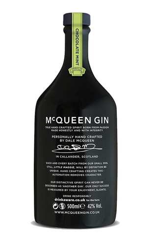 McQueen Chocolate Mint Gin - 50cl