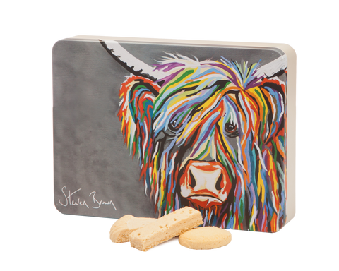 Deans Shortbread Tins - Steven Brown Artwork