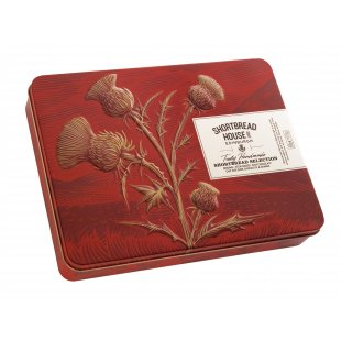 Shortbread House of Edinburgh Selection Tin, 500g