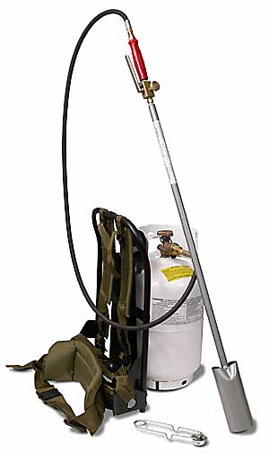 #BP2512SVC Back Pack Torch Kit w/Squeeze Valve