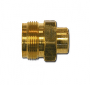 "#F-140 Cylinder Adaptor 1/4"" FPT x 1"" 20 Male Thread"