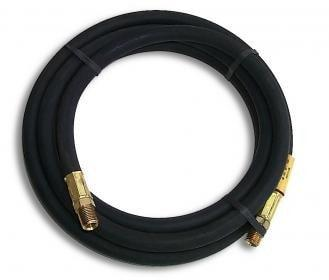 "#HP10 10' Hose w/1/4"" MPT on both ends"