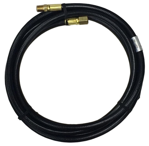 "#HP10C 10' Hose w/1/4"" MPT & 1/4""FPT"