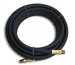 "#HP25 25' Hose w/1/4"" MPT on both ends - Flame Engineering"