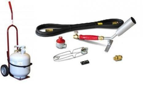 #HT11/2-10CRCOMBO Vapor Torch Kit w/Cylinder Dolly