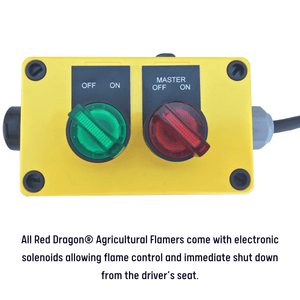 test test Please call for pricing. Red Dragon® Row Crop Flamers