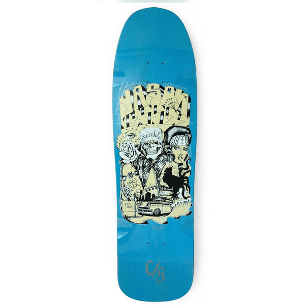 SOLD OUT - Suicidal Skates - Jason Jessee Collaboration Pool Deck (Shipping Charges Included)
