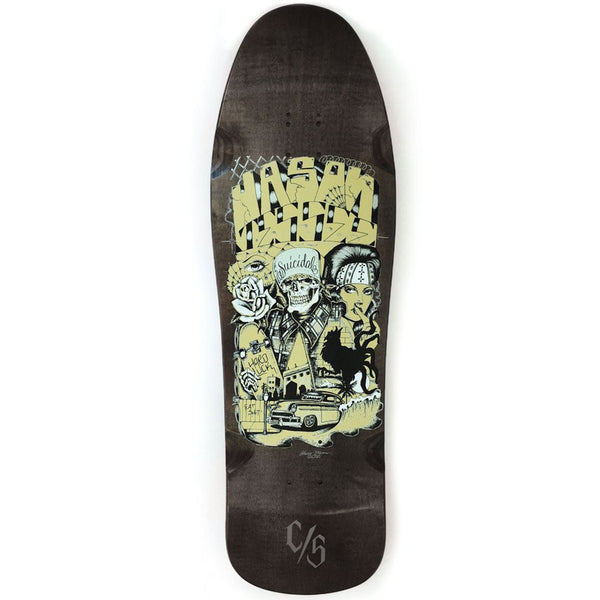 Suicidal Skates - Jason Jessee Collaboration Old School Deck (Shipping Charges Included)