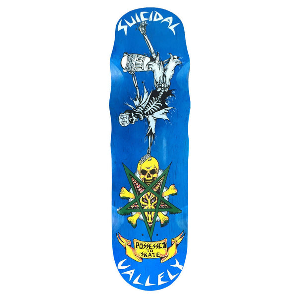 SOLD OUT - Suicidal Skates - Mike Vallely Collaboration Deck - POOL - (Shipping Charges Included)