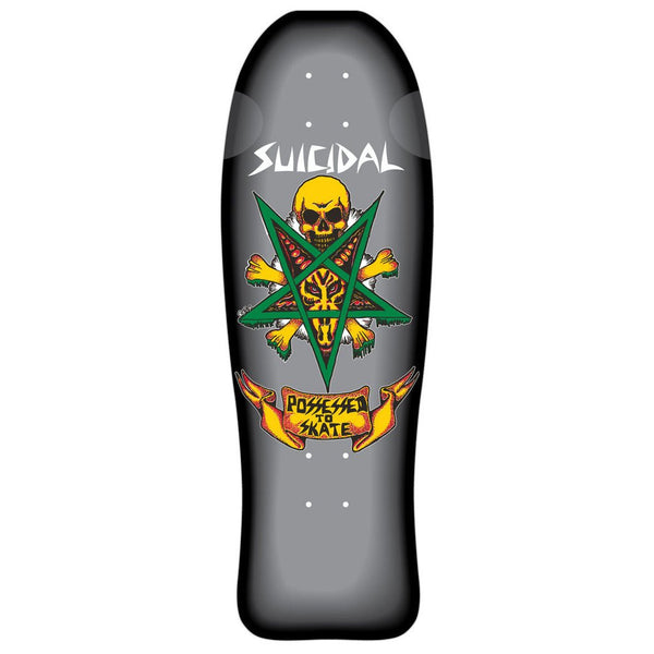 SOLD OUT - Suicidal Skates - Possessed To Skate Deck Custom Black Rail Fade (Shipping Charges Included)