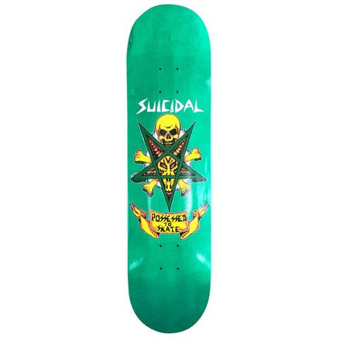 SOLD OUT - Suicidal Skates - Possessed To Skate Popsicle Decks - Different sizes/colors (Shipping Charges Included)